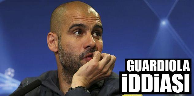 Guardiola iddiası