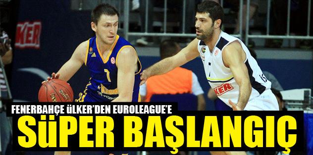 Fenerbahçe Ülker'den Euroleague'e süper başlangıç!
