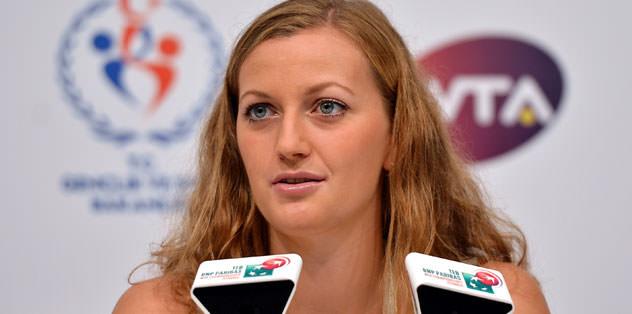 """Kvitova: """"Burada olmak çok güzel"""""""