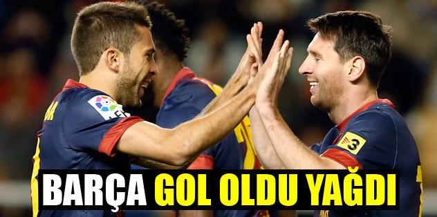 Barça gol oldu yağdı