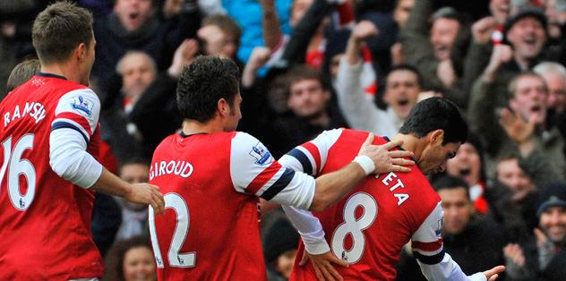 Arsenal zorlandı