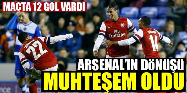 Arsenal'in dönüşü muhteşem oldu