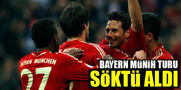 Bayern Münih turu söktü aldı