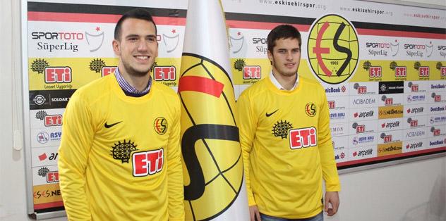 Causic ve Mrkale Eskişehirspor'da