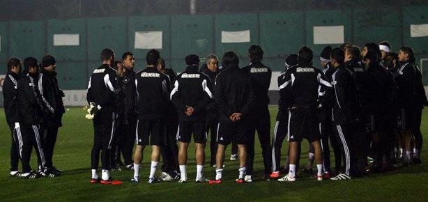 Beşiktaş ikinci yarı hazırlıklarına başladı
