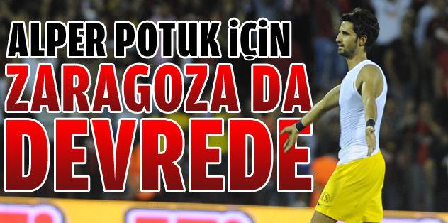 Alper Potuk için Real Zaragoza da devrede
