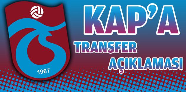 Trabzonspor'dan ilk transfer açıklaması