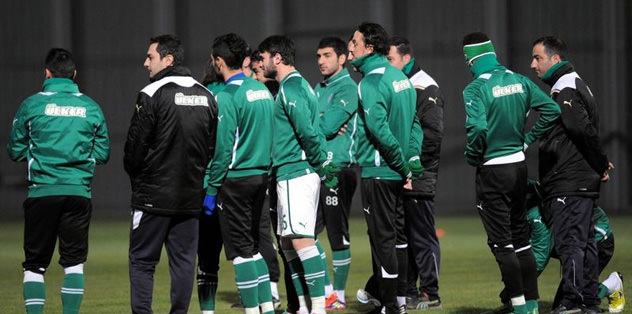 Bursaspor'da ikinci yarı hazırlıkları