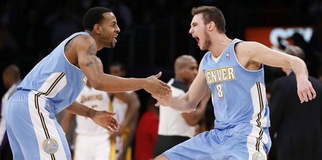 Nuggets Lakers'ı yıktı