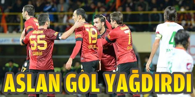 Galatasaray gol yağdırdı