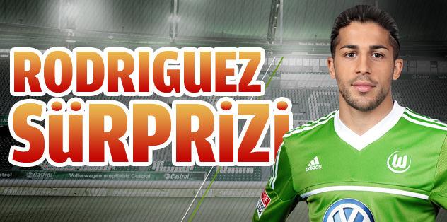 Rodriguez sürprizi