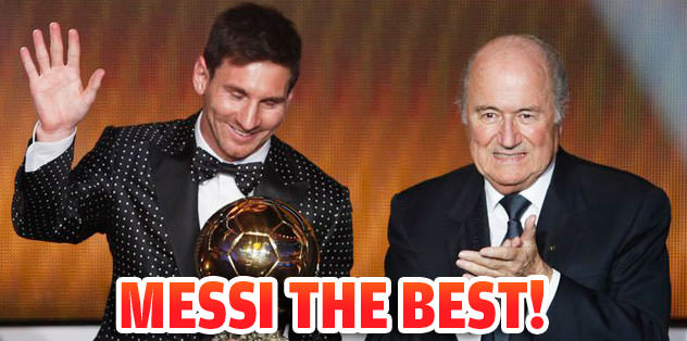 Messi the best!