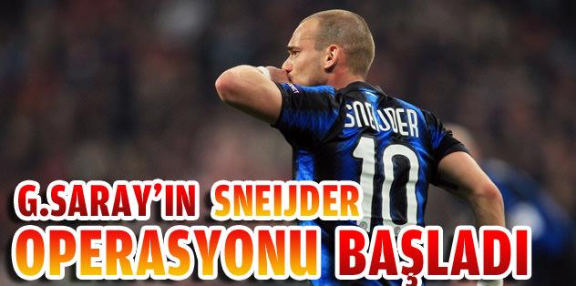 Sneijder operasyonu başladı