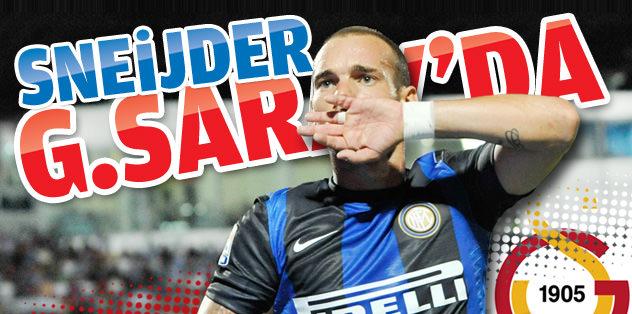Sneijder G.Saray'da