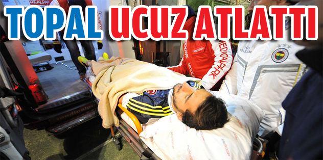 Mehmet Topal ucuz atlattı