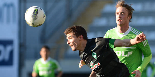 Kupa Werder'e gitti
