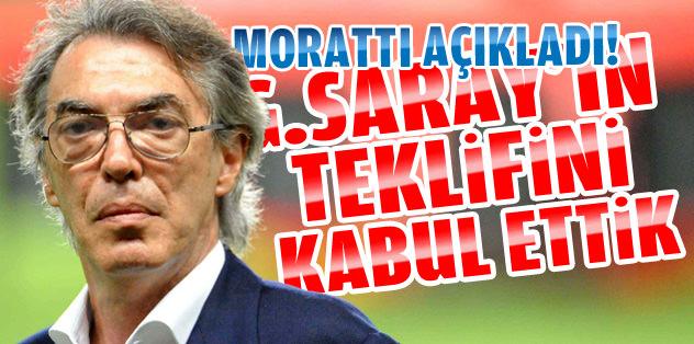 Inter, G.Saray'ın teklifini kabul etti