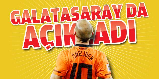 Sneijder'i Galatasaray da açıkladı