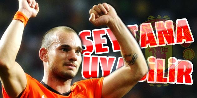 Sneijder Şeytan'a uyabilir!