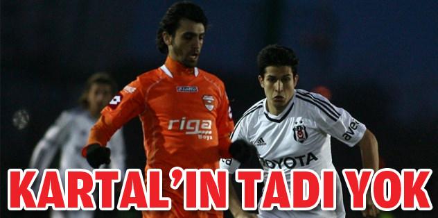 Beşiktaş'tan tatsız prova!
