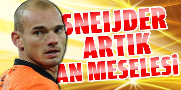 Sneijder artık an meselesi