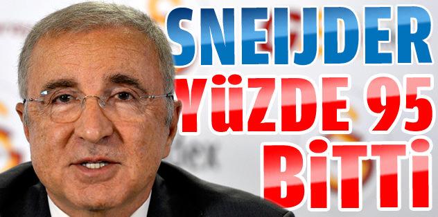 "Aysal: ""Sneijder % 95 bitti"""