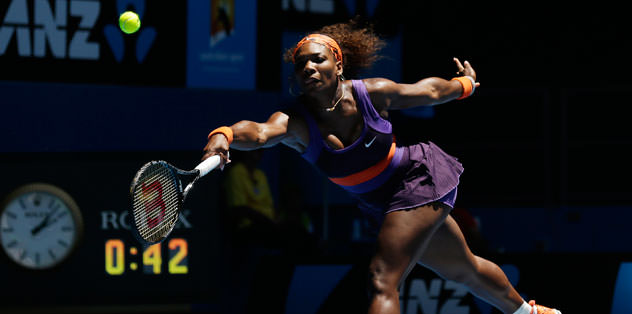Serena oyun vermedi