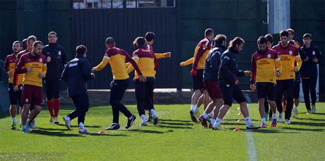 Galatasaray'da Kasımpaşa hazırlıkları