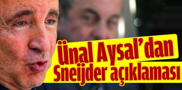 Aysal'dan Sneijder açıklaması