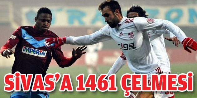 Sivasspor'a 1461 Trabzon çelmesi!