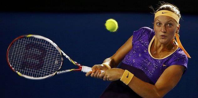 Robson Kvitova'yı eledi