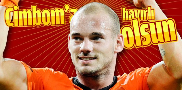 Sneijder hayırlı olsun