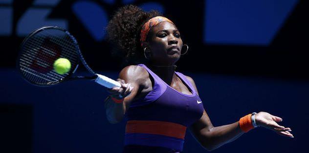 Serena 4'üncü tura yükseldi