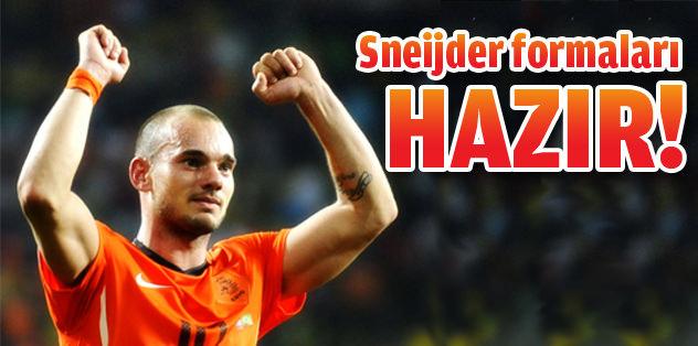 Sneijder formaları hazır