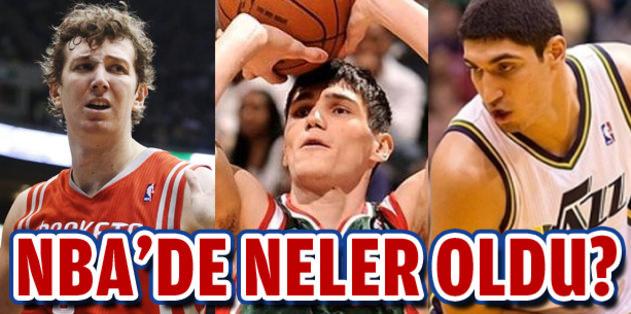 NBA'de temsilcilerimiz neler yaptı?