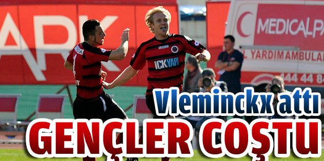 Antalyaspor'u Vleminckx dağıttı