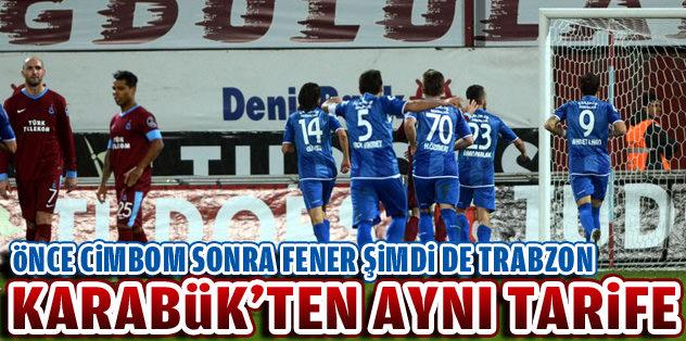 Karabük'ten Trabzon'a da aynı tarife