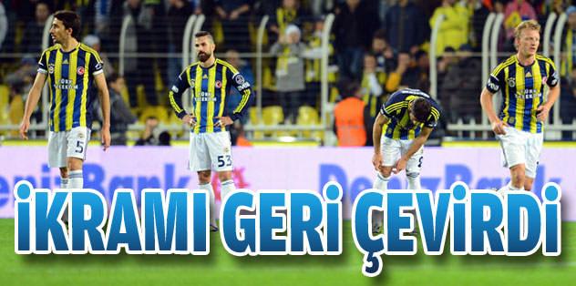 Fenerbahçe fırsat tepti!