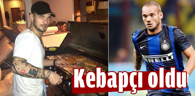 Sneijder'in kebap keyfi