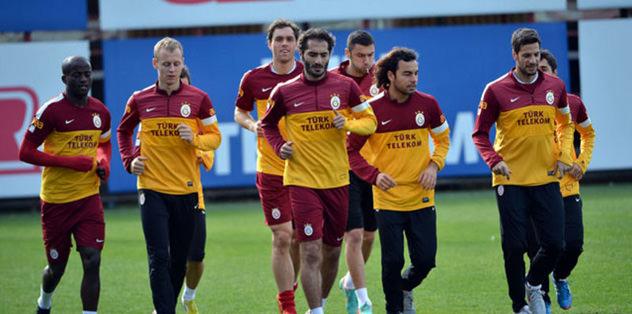 G.Saray, Beşiktaş derbisine hazırlanıyor