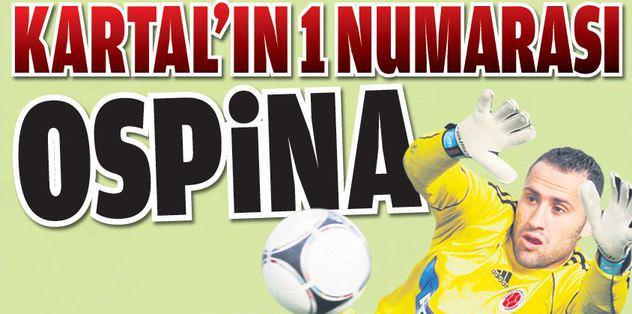 Kartal'ın 1 numarası Ospina