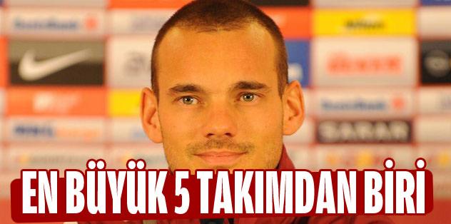 En büyük 5 takımdan biri Galatasaray
