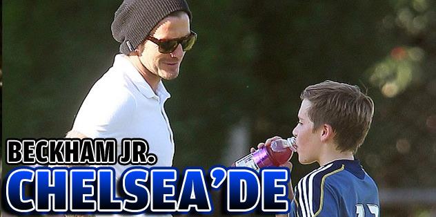 Beckham Jr. Chelsea'de