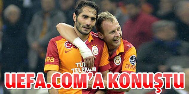 Hamit Altıntop, UEFA.com'a konuştu!