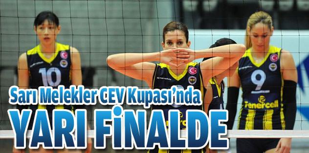 Fenerbahçe, CEV Kupası'nda yarı finalde