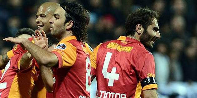 Galatasaray devler arasında