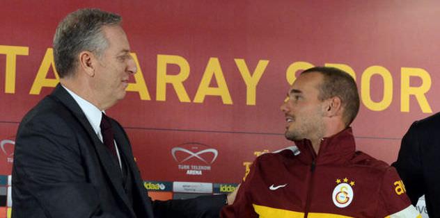 """""""Sneijder hazırsa oynar"""""""