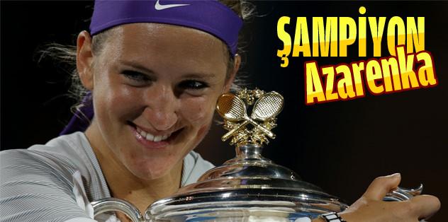 Şampiyon Azarenka