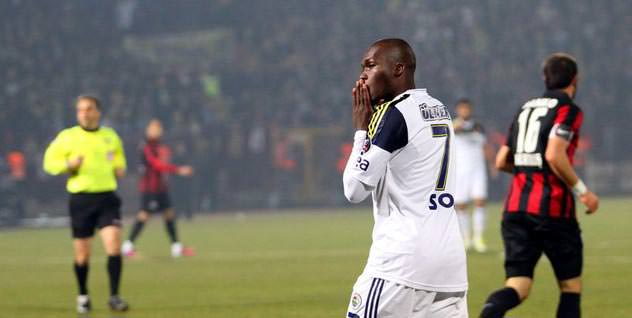 Moussa Sow golde 24 cm ofsayttaydı