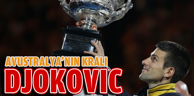 Avustralya'nın kralı Djokovic